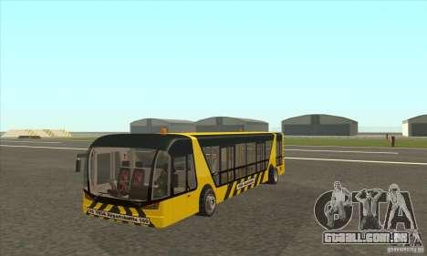 Ônibus para o aeroporto para GTA San Andreas