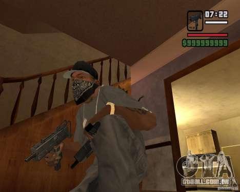 MAC-10 para GTA San Andreas segunda tela