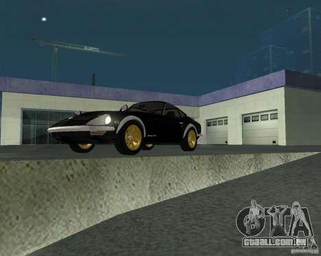 Nissan  Fairlady 240ZG para GTA San Andreas vista direita