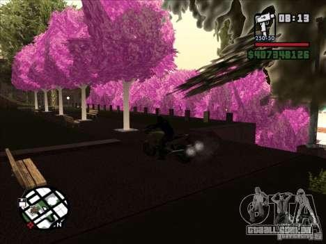 Pequenas curiosidades para GTA San Andreas por diante tela