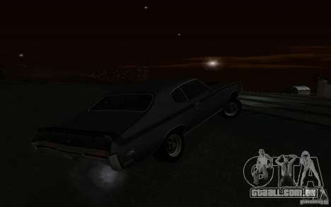 Buick GSX 1970 para GTA San Andreas vista superior