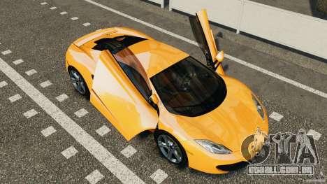 McLaren MP4-12C v1.0 [EPM] para GTA 4 vista de volta