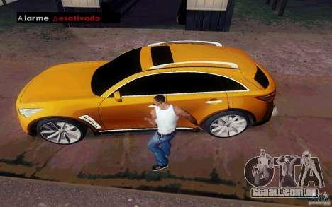 Alarme Mod v4.5 para GTA San Andreas sexta tela