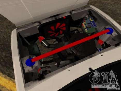 Tofas Sahin DRIFT para GTA San Andreas vista interior