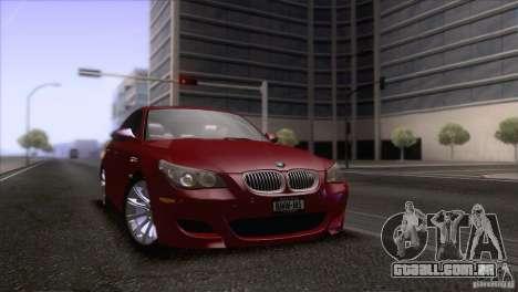 BMW M5 2009 para o motor de GTA San Andreas