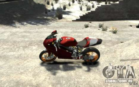 Ducati 999R para GTA 4 esquerda vista