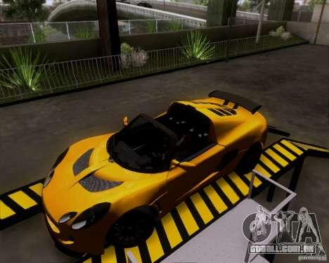 Lotus Exige para GTA San Andreas esquerda vista