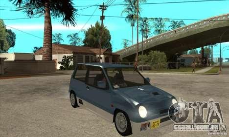 Suzuki Alto Works para GTA San Andreas vista traseira