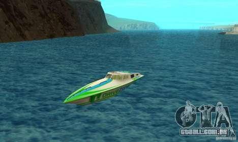 Speed Motorboat para GTA San Andreas