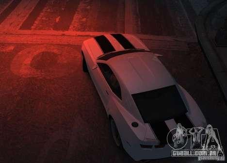 Chevrolet Camaro concept 2007 para GTA 4 vista de volta