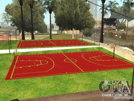 Quadra de basquete para GTA San Andreas