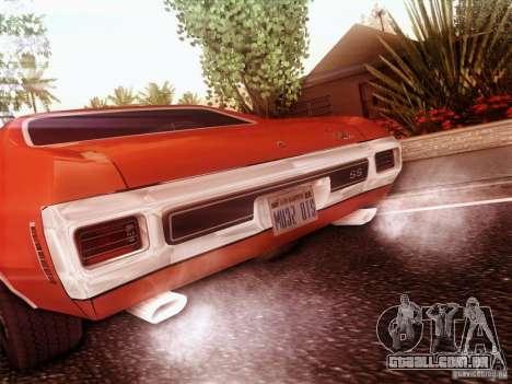 Chevy Chevelle SS 1970 para GTA San Andreas esquerda vista