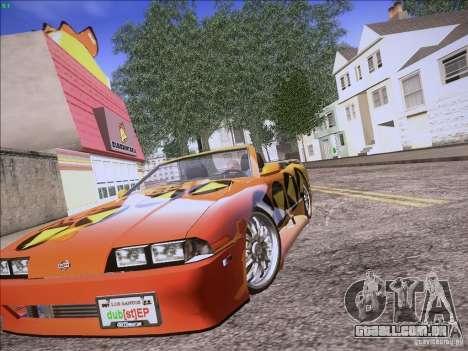 Elegy Cabrio Edition para GTA San Andreas vista traseira