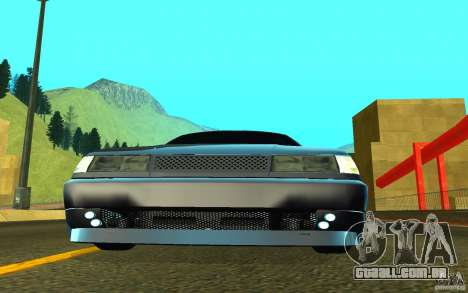 VAZ-2112 para GTA San Andreas esquerda vista