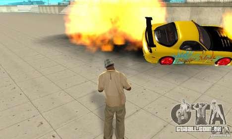 Capacidade sobrenatural de CJ-eu para GTA San Andreas por diante tela