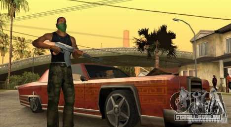 Wars Zones para GTA San Andreas terceira tela