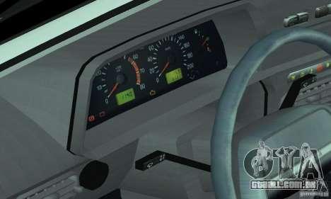 ВАЗ 2114 Tuning para GTA San Andreas vista superior