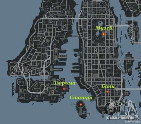 Bank robbery mod para GTA 4 nono tela
