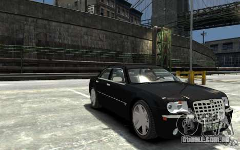Chrysler 300C para GTA 4 vista de volta