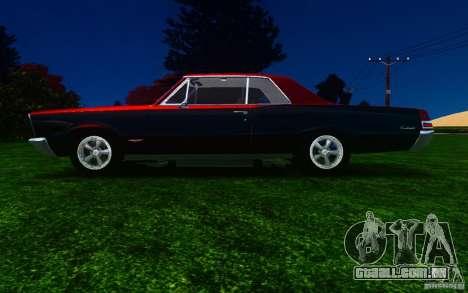 Pontiac GTO 1965 FINAL para GTA 4 esquerda vista