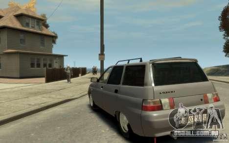Lada ВАЗ 2111 para GTA 4 traseira esquerda vista