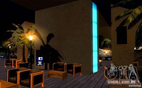 Clube de praia para GTA San Andreas quinto tela