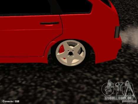 VAZ 2109 Opera Turbo para GTA San Andreas vista traseira