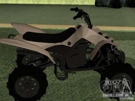 Ducati Quad HQ 110cc para GTA San Andreas