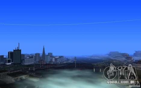 Configurando o ENBSeries para PC fraco para GTA San Andreas quinto tela