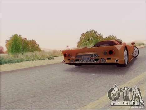 Nissan R390 Road Car v1.0 para vista lateral GTA San Andreas