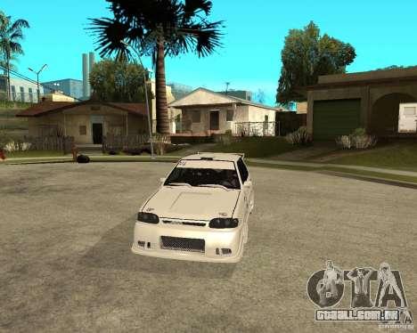 ВАЗ 2114 Mechenny para GTA San Andreas vista traseira