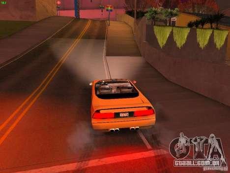 Infernus Revolution para GTA San Andreas vista superior
