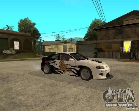 Vauxhall Monaro Rogue Speed para GTA San Andreas vista direita