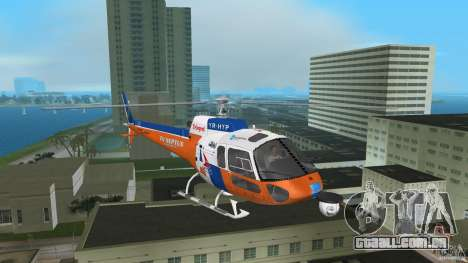 Eurocopter As-350 TV Neptun para GTA Vice City deixou vista