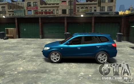 Hyundai Santa Fe para GTA 4 esquerda vista