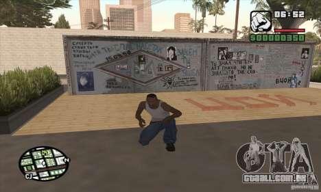 Parede Tsoi para GTA San Andreas