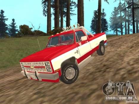 Chevrolet Silverado 2500 para GTA San Andreas