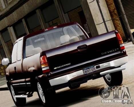 Chevrolet Silverado 1500 2000 para GTA 4 esquerda vista