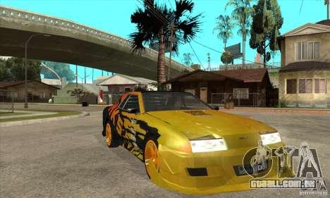 Tuneable Elegy v0.1 para GTA San Andreas vista traseira