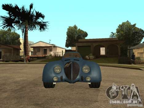 Alfa Romeo 2900B LeMans Speciale 1938 para GTA San Andreas vista direita