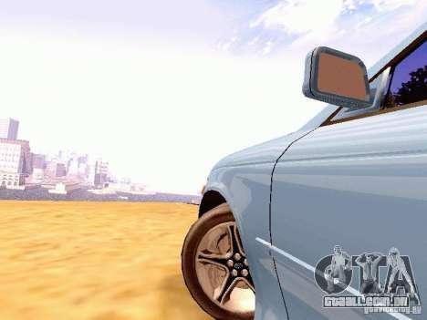 Toyota Mark II JZX90 para GTA San Andreas traseira esquerda vista