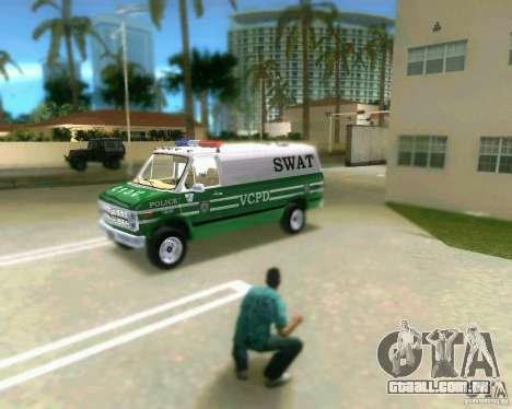 Chevrolet Van G20 para GTA Vice City deixou vista