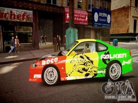 Nissan Silvia S15 Boso Drift Formula D M-Design para GTA 4 esquerda vista