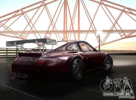 Porsche 911 GT3 RSR RWB para GTA San Andreas vista direita