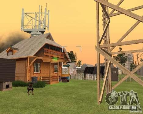 Base Gareli para GTA San Andreas por diante tela