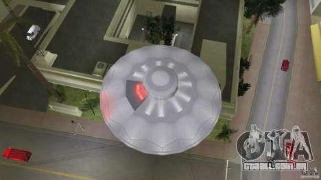 U.F.O. para GTA Vice City vista traseira esquerda