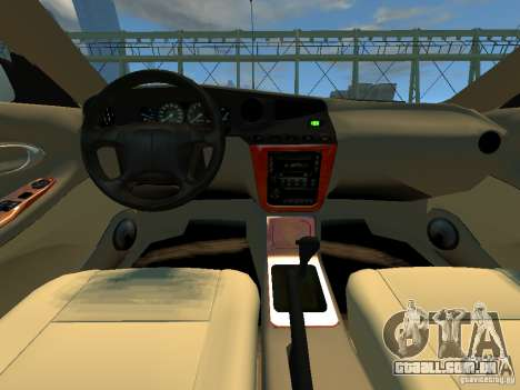Daewoo Leganza CDX para GTA 4 vista de volta