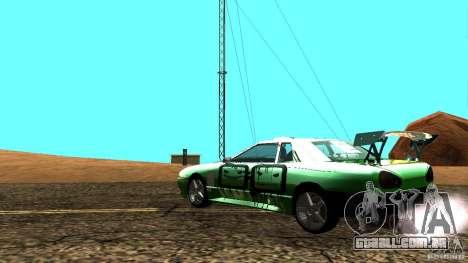 Elegy v0.2 para GTA San Andreas esquerda vista