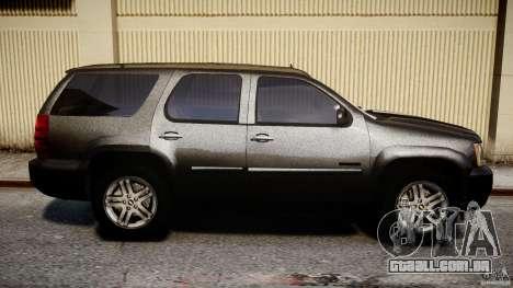 Chevrolet Tahoe 2007 para GTA 4 vista superior