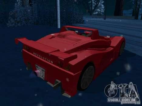 Lada Revolution para GTA San Andreas traseira esquerda vista